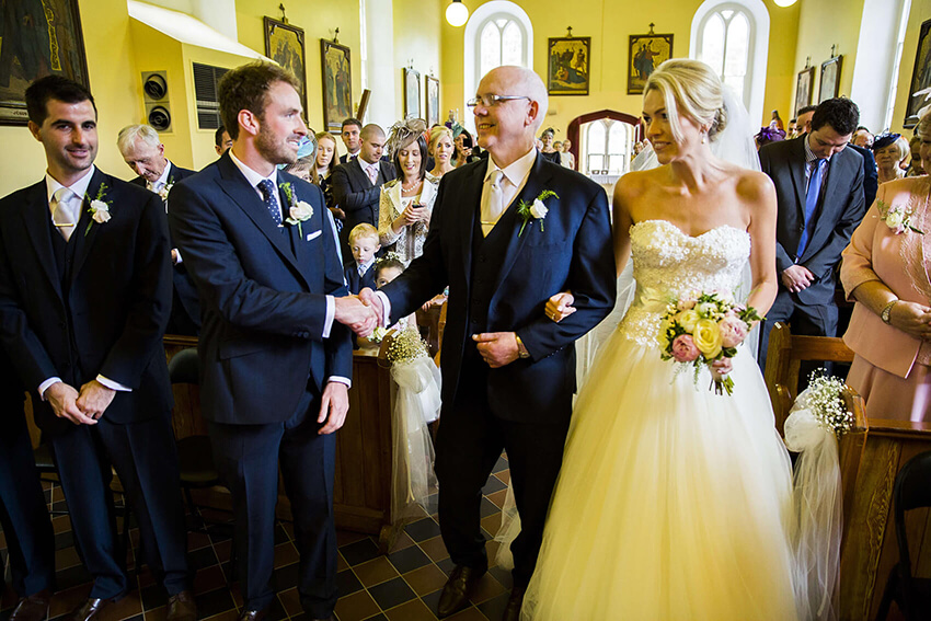 bernard carolan wedding photographer wicklow saints patrick and saint killian church