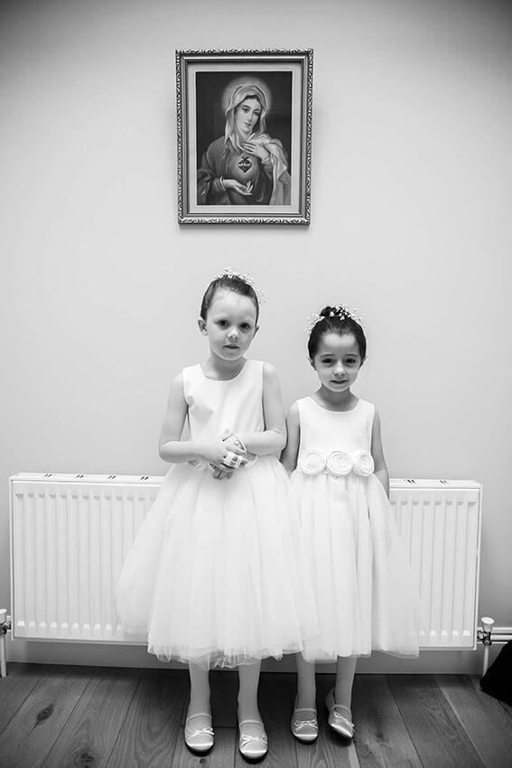 bernard carolan wedding photographer wicklow flower girl dress