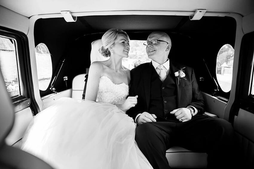 bernard carolan wedding photographer wicklow old car
